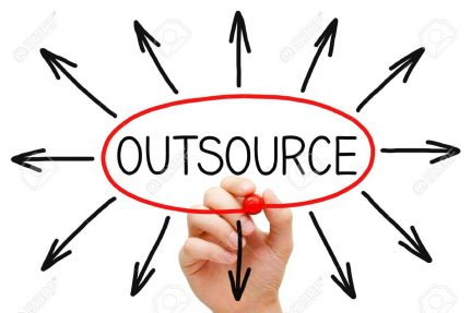 Outsourcing web development projects